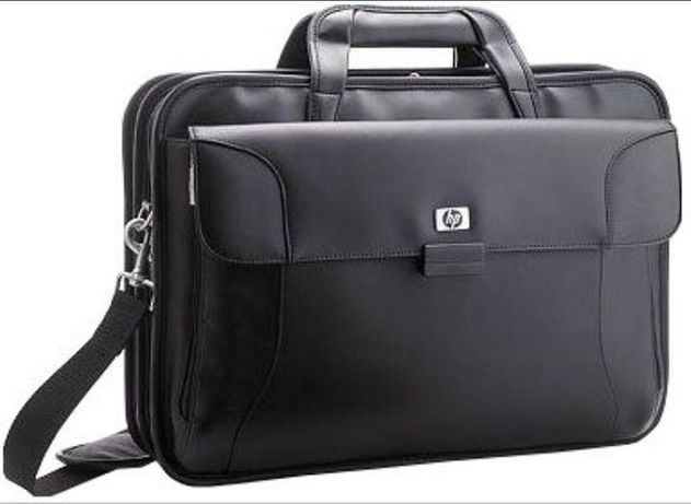 Оригинальная сумка HP для Ноутбука. КОЖА!