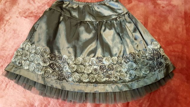 Нарядная юбка на 9-12 лет