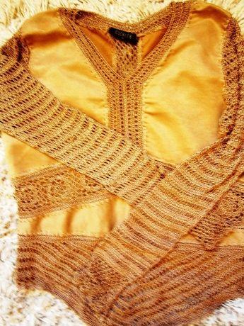 sweterek w stylu hippie boho