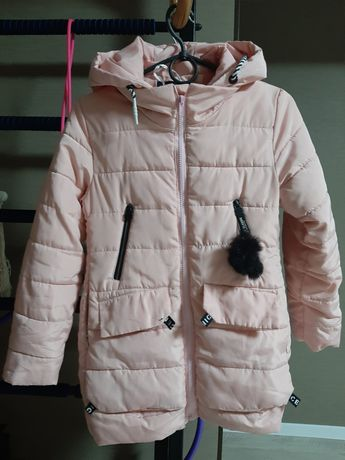 Куртка розовая для девочки