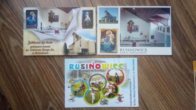 Rusinowice - 3 pocztówki