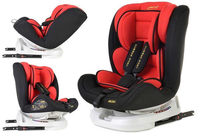 Nowy Fotelik Samochodowy Obrotowy Z Isofix 0-36 kg Summer Baby Aruba