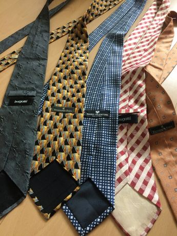 krawat włoski bugatti,zegna ,valentino