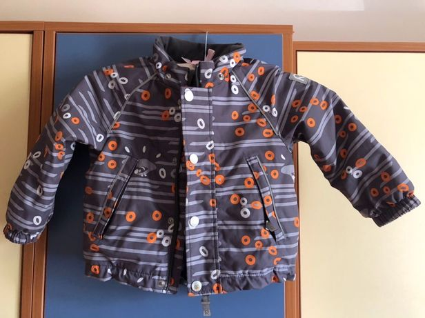 Детский зимний комплект (куртка+полукомбинезон) Reima tec размер 86 см