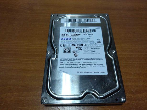 Жесткий диск 2 tb SAMSUNG, винчестер 2 tb, жесткий диск 2 терабайта