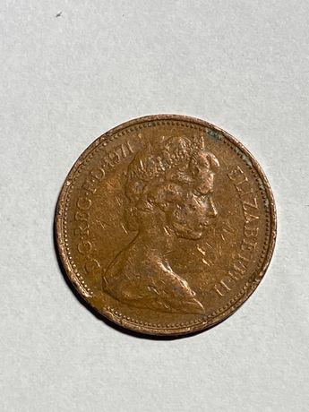 New Pence 1971r destrukt okazja!!