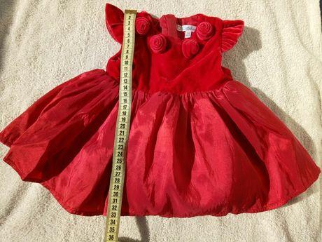 Платтячко/ плаття Kitchoun на дівчинку до 3 місяців