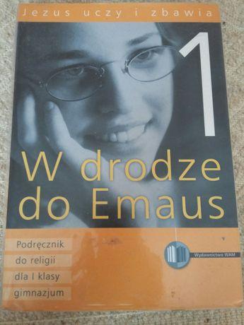 W drodze do Emaus, podręcznik do religii dla I klasy gimnazjum, WAM