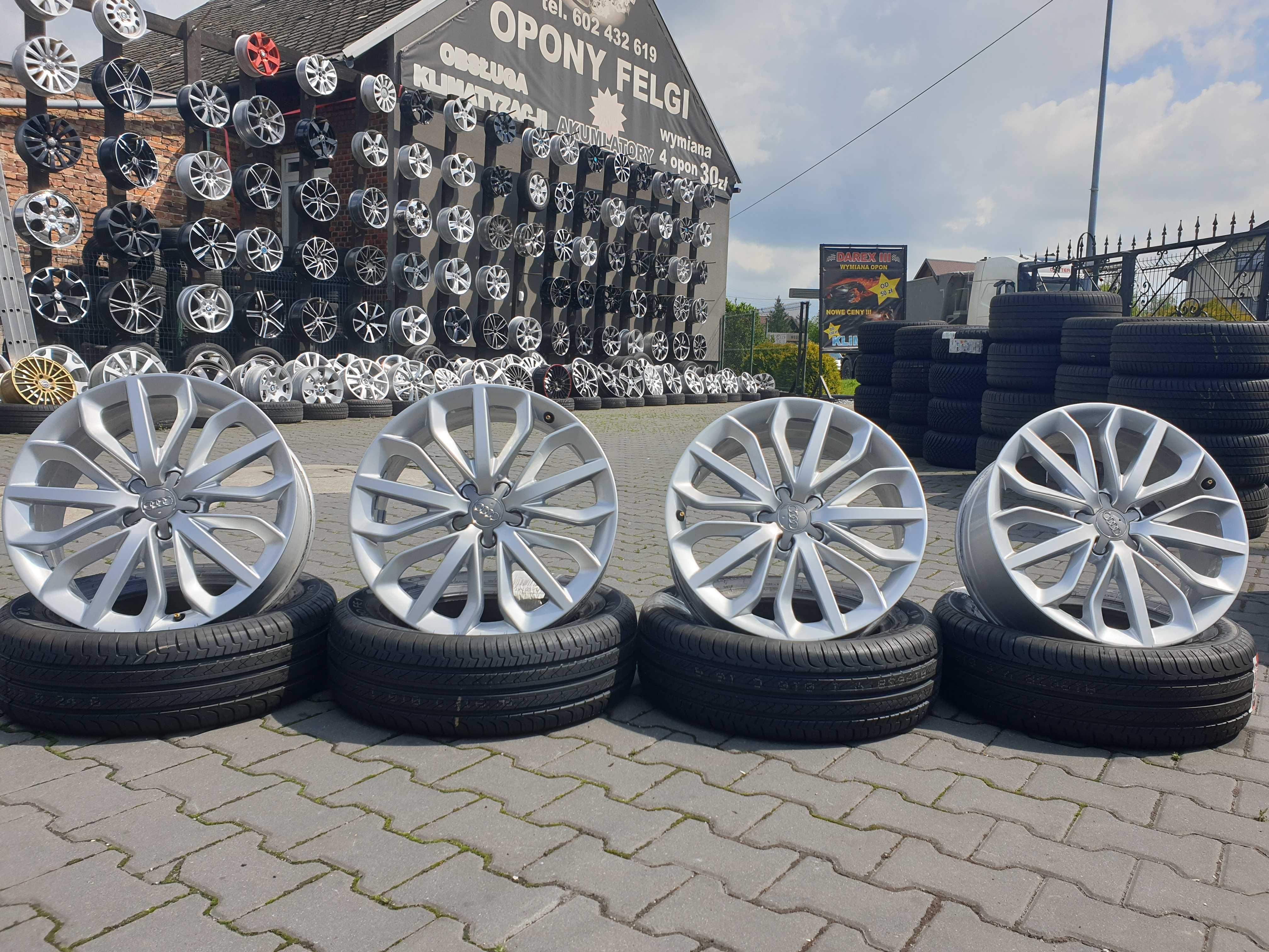 "Felgi aluminiowe Audi 19"" 5x112 7,5j et33 Skoda Seat Vw Audi itp."
