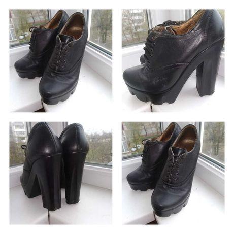 Обувь: ботинки, туфли  на 36р