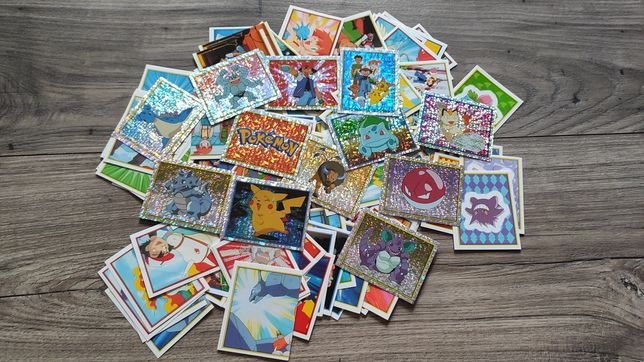 Naklejki/karty Pokemon