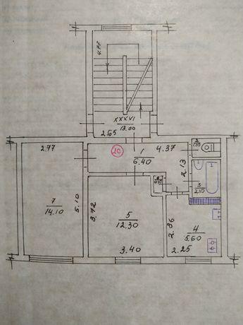 Продам СВОЮ 2-кімнатну квартиру в м.Миронівка. 106 км від Києва.