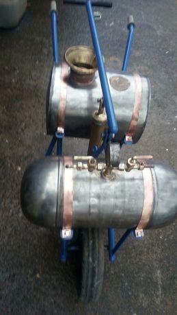 Máquinas de sulfatar antigas