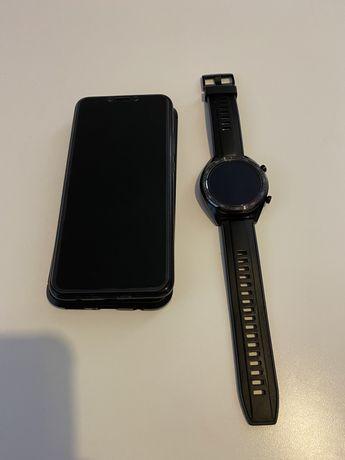 Huawei Mate 20 Lite e Watch GT Sport 44mm