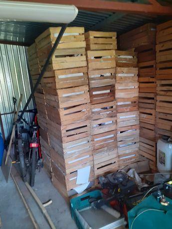 Sprzedam skrzynki drewniane uniwersalne wszystkie jasne ladne