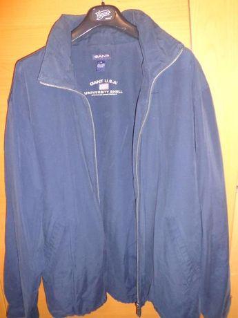 Corta vento Gant XL azul ORIGINAL, com carapuço