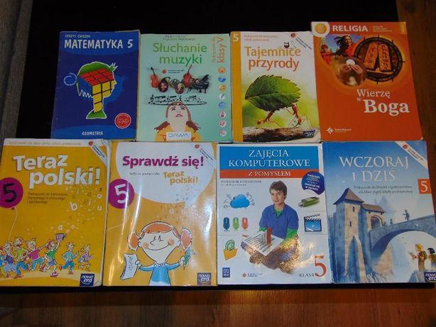Podręczniki książki klasa 5 V 5 szt.