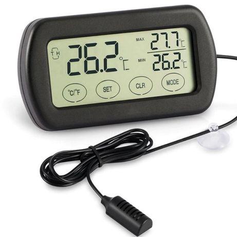 Termómetro Higrómetro touchscreen digital, max/min para animais