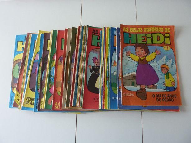 Revistas da Heidi nº1 a nº52 edição de 1976