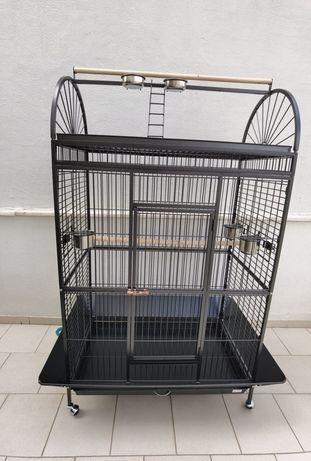 Gaiola Yaco4 para Papagaio ou Arara 101 x 61 x 178 cm