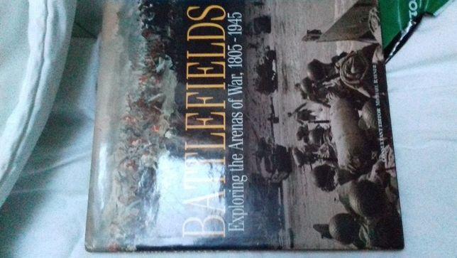 Livro - BATTLEFIELDS - Campos de Batalha - 1945 como novo