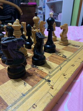 Шахматы ретро времен ссср
