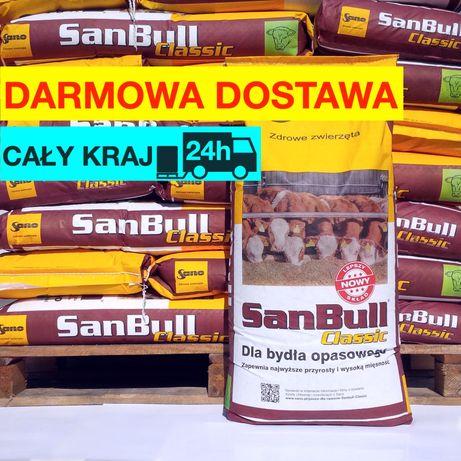 Sano SanBull 25kg koncentrat dla opasów, pasza dla bydła opasowego