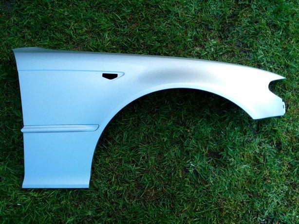 BMW E46 coupe lift błotnik prawy przód titansilber oryginał demontaż