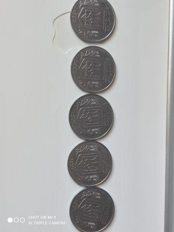 Монеты 5 коп- Украина-1992 год(5 шт)- только опт.