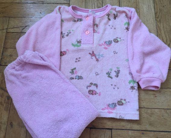 Ciepła piżamka dla dziewczynki r 98 piżama