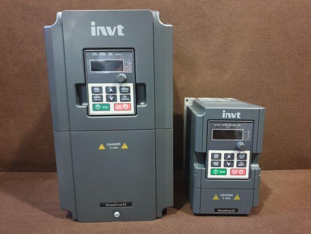 Частотный преобразователь INVT ИНВТ серия Gooddrive 20 частотник
