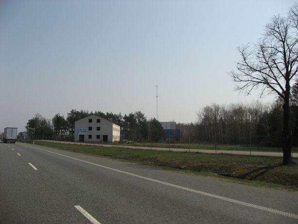 Hala przemysłowa 1700 m2 + działka przemysłowa 6060 m2 przyległa do S8