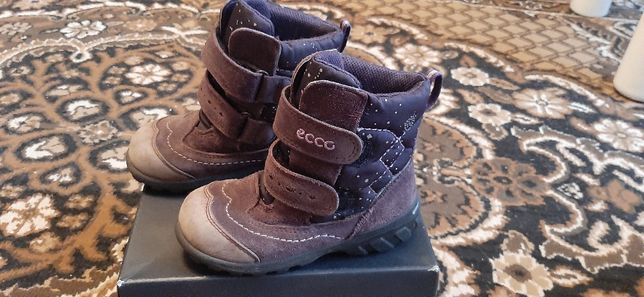 Зимние  термоботинки Ecco