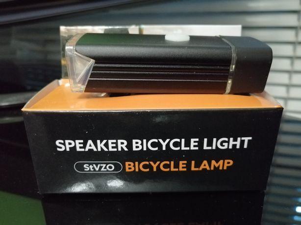 Вело фонарь новый в упаковке.