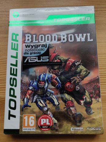 Blood Bowl - gra PC nowa, folia TOPSELLER - Warhammer rugby football