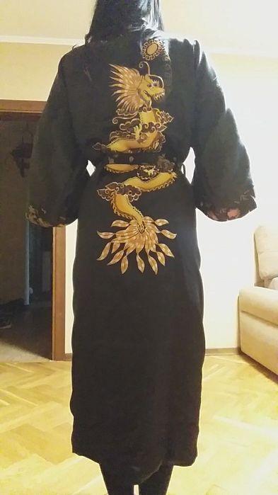 Шелковый  халат китайский  Дракон двусторонний Киев - изображение 1