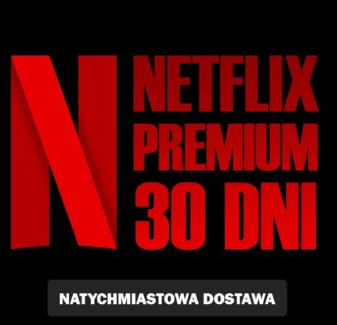 NETFLIX 4K • działa na Smart TV/PS4/telefon • Polski lektor!!!
