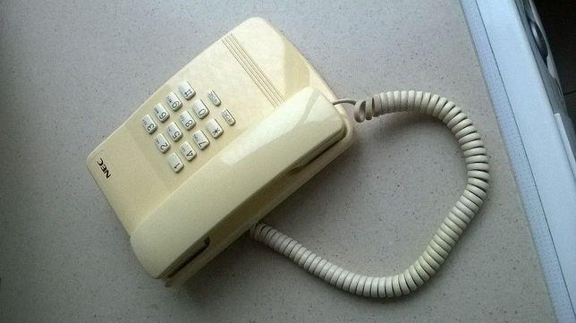 Telefone fixo de marca NEC