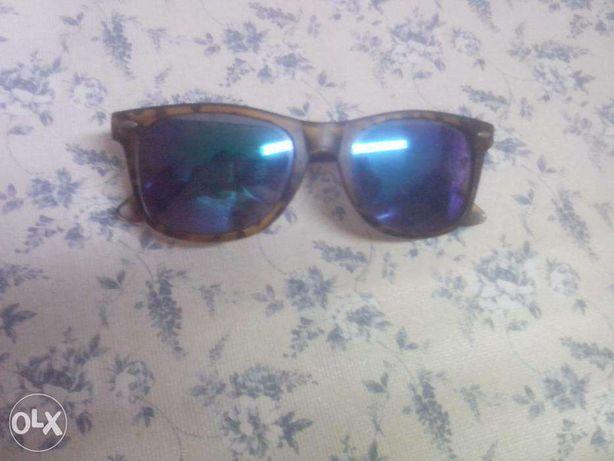 oculos de sol .lente azul
