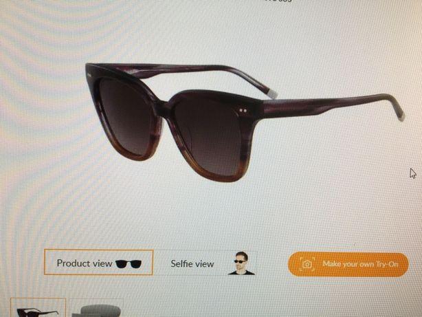 Calvin Klein 4359S 505 Fioletowe Damskie Okulary
