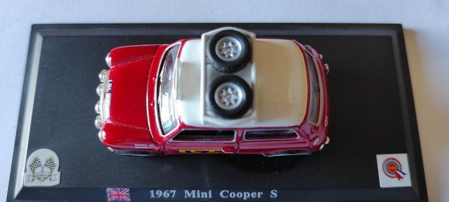 Miniatura mini 1967 rally