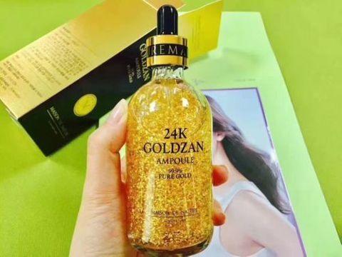 Сыворотка 24K Goldzan SKINATURE 100 мл, гиалуроновая кислота 100 мл