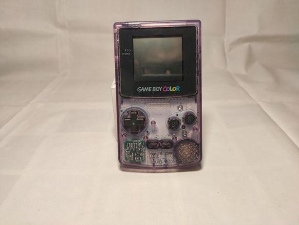 NINTENDO GAME BOY COLOR *konsola, gry, arcade, pokemon, przeźroczysta*