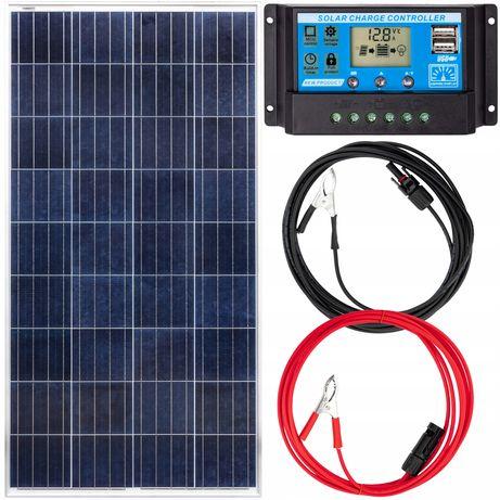 Panele fotowoltaiczne bateria słoneczna 180W 12V regulator (ZES208)