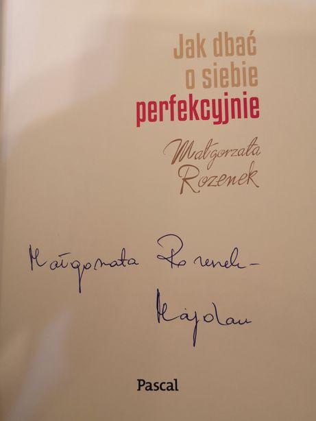 Małgorzata Rozenek Majdan z autografem