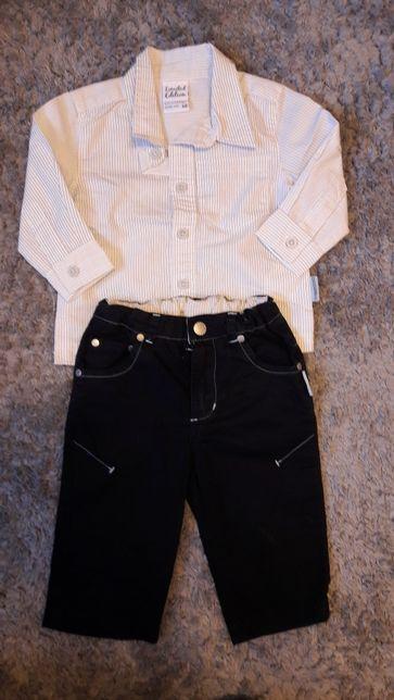 Spodnie koszula chrzest coccodrillo limited Edition 68