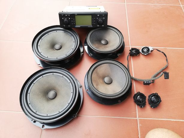 Oryginalne radio +głośniki Golf V