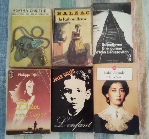 Livres en français, Livros em francês