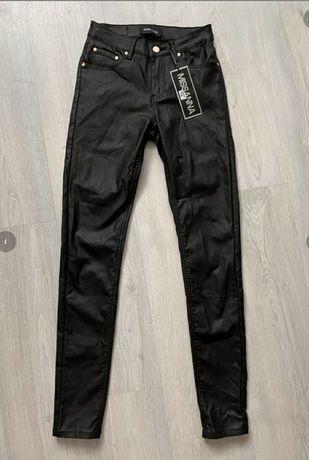 Spodnie woskowane S nowe z metką