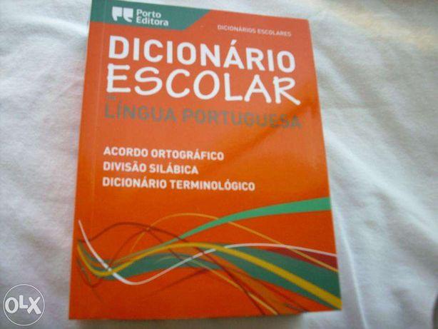 Dicionario Escolar de Lingua portuguesa